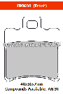 FERODO FDB680AG - Комплект тормозных колодок для мотоциклов