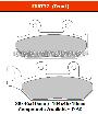 FERODO FDB737P - Комплект тормозных колодок для мотоциклов