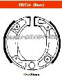 FERODO FSB714 - Комплект тормозных колодок для мотоциклов