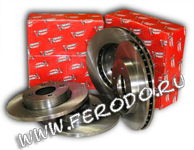 Тормозные диски Ferodo