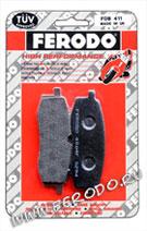 Дисковые тормозные колодки FERODO (мото)