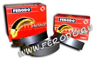 Барабанные тормозные колодки Ferodo